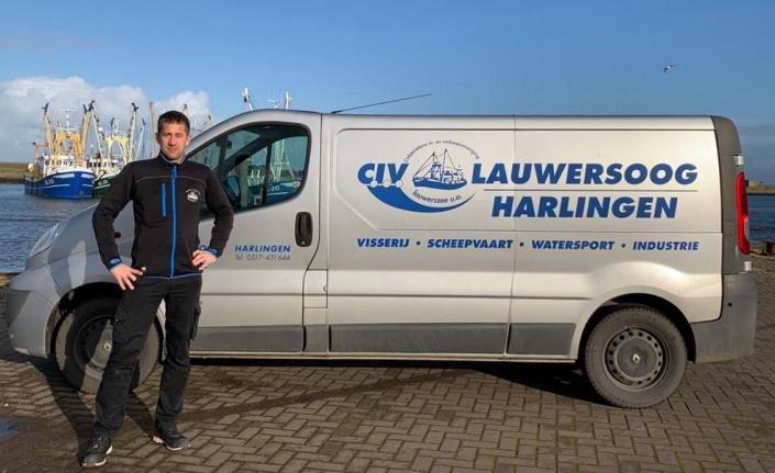 Gerard Weidenaar - CIV Lauwersoog